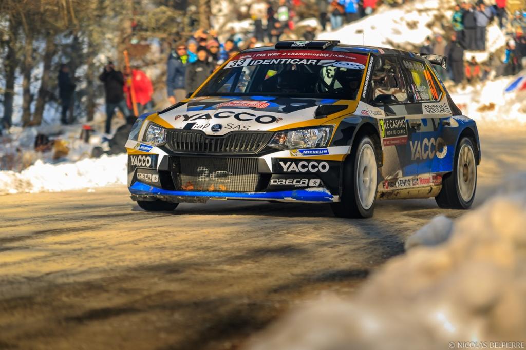 Rallye Monte Carlo 2016 - Nicolas Delpierre