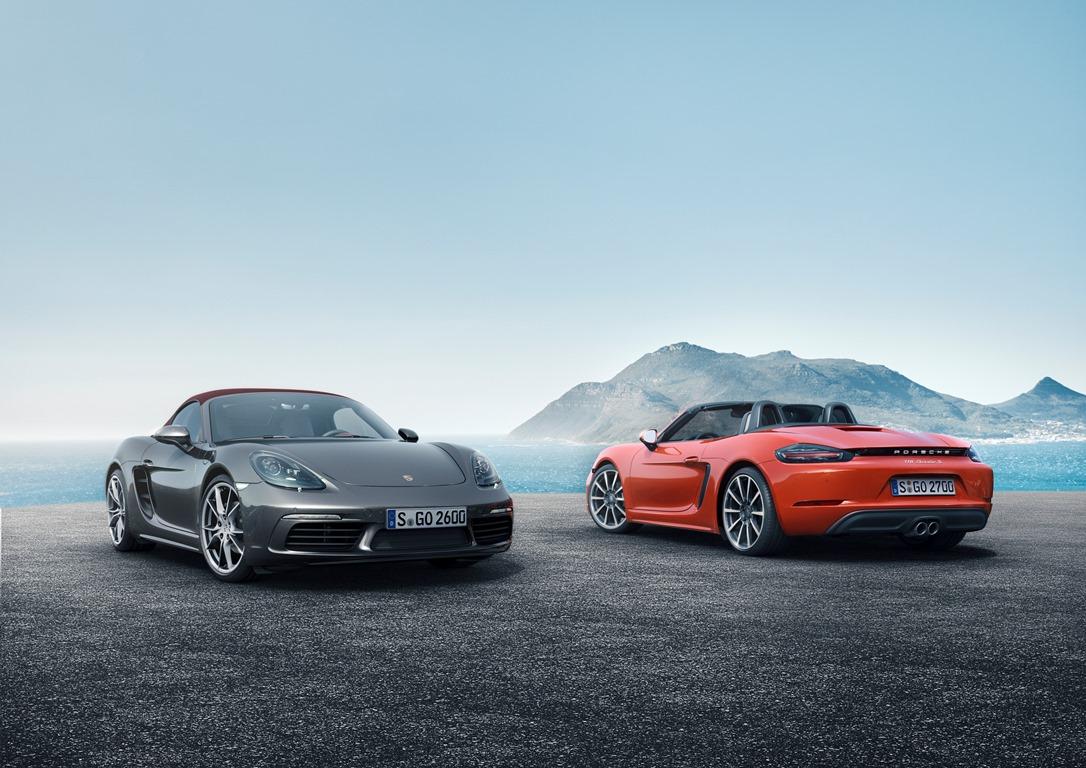 Porsche Boxster 718 et 718 S