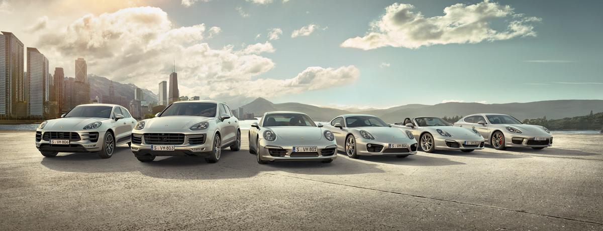 Gamme Porsche