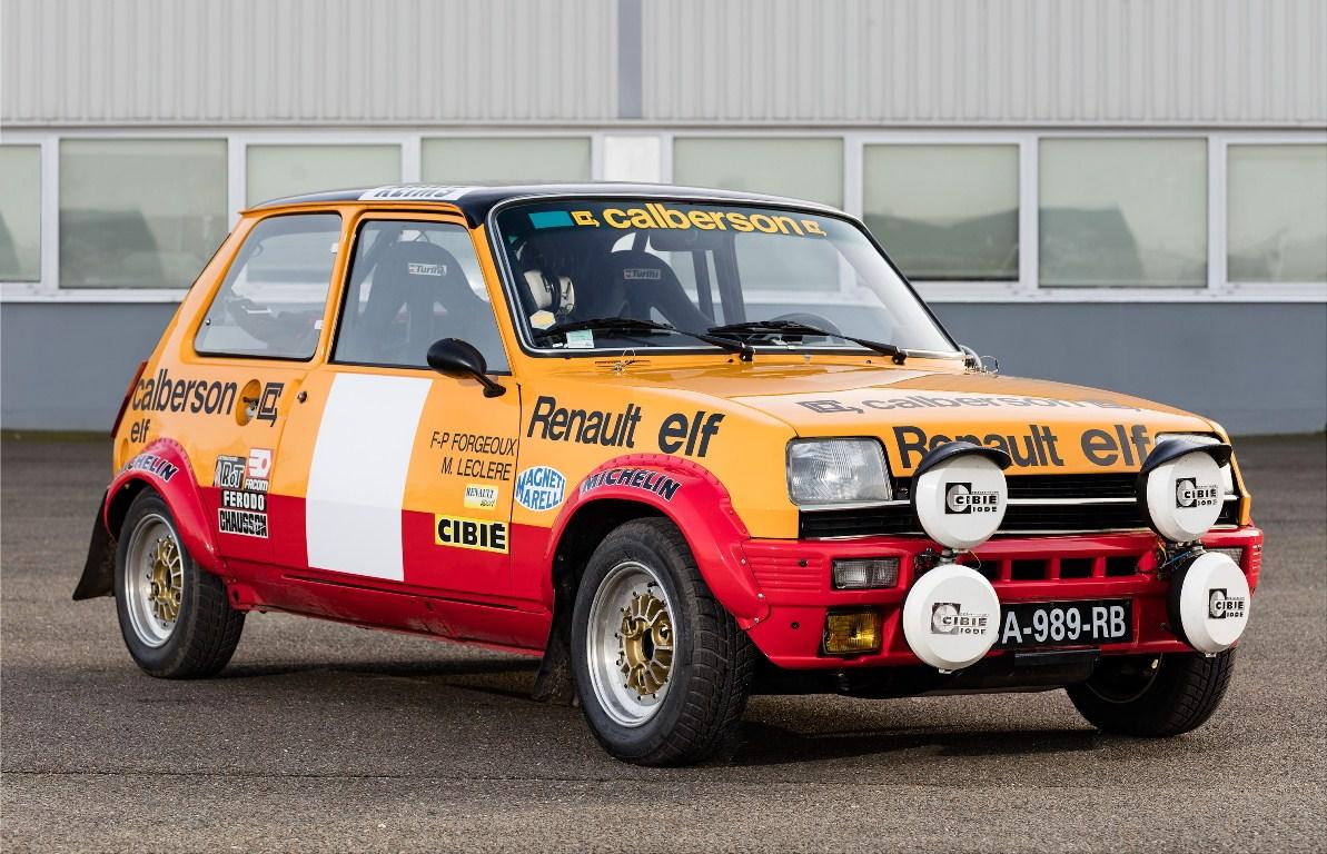 Renault 5 Alpine Groupe II - Rallye Monte Carlo Historique 2016