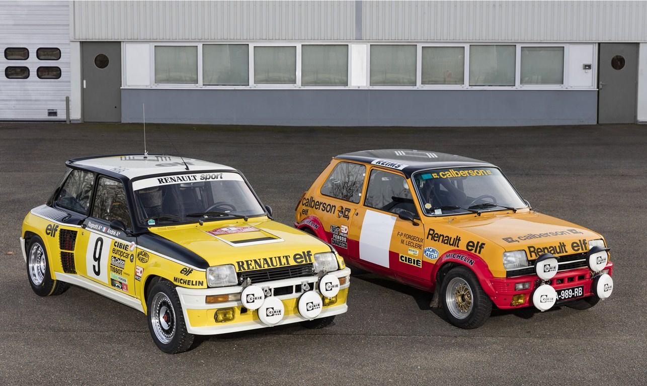 Renault 5 Turbo et Renault 5 Alpine Groupe II