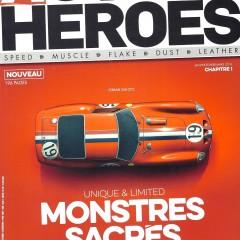 Auto Heroes, Hommes et Autos de Caractère : Un nouveau magazine auto en kiosque !