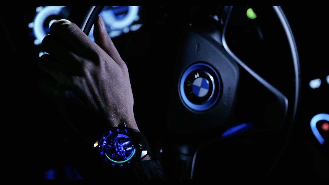 Jean Eric Vergne HYT H4 Metropolis BMW i8
