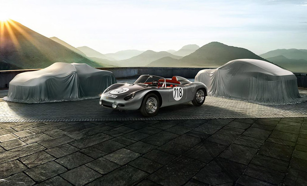 Porsche 718 1957 et Boxster/Cayman 718 2016
