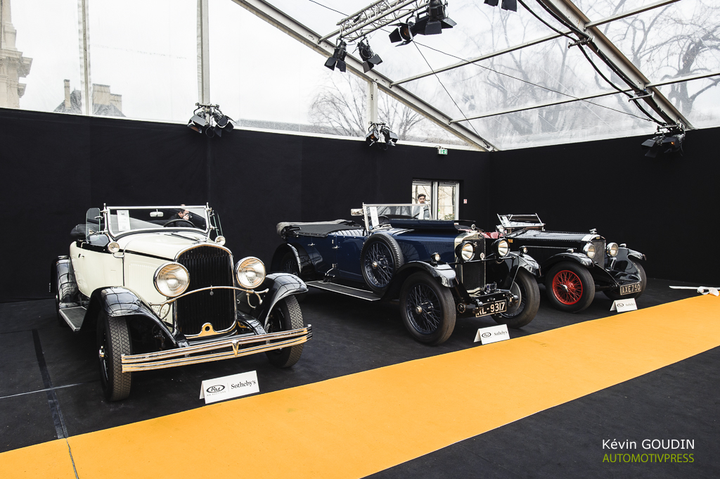 RM Auctions Sotheby's - Invalides Paris - Rétromobile 2016 - Kevin Goudin
