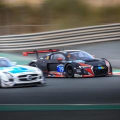 24 Heures de Dubaï 2016 : L'Audi R8 LMS devance la Mercedes AMG SLS GT3