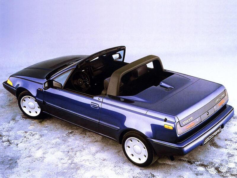Volvo 480 cabriolet prototype 1990