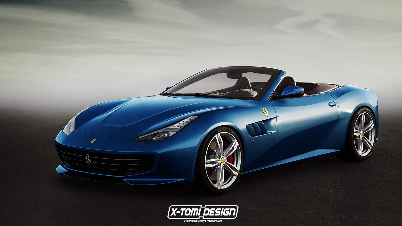 La Gamme Ferrari Gtc4 Lusso Par X Tomi Design