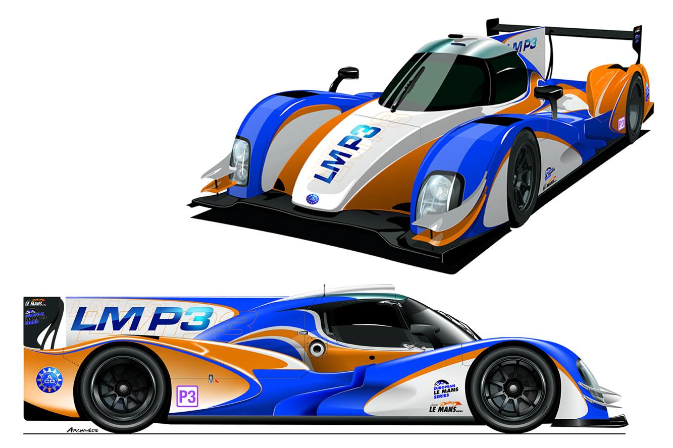 Le Mans Prototype 3