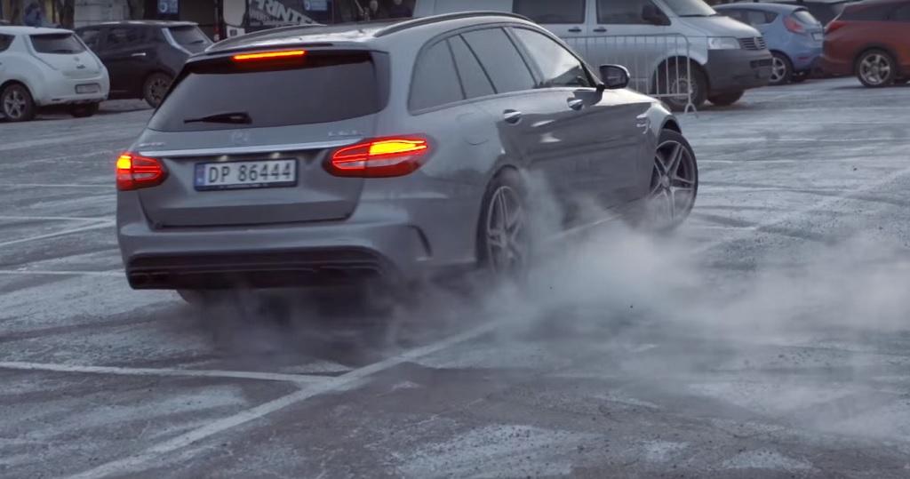 Petter Solberg - Mercedes AMG C63 Break