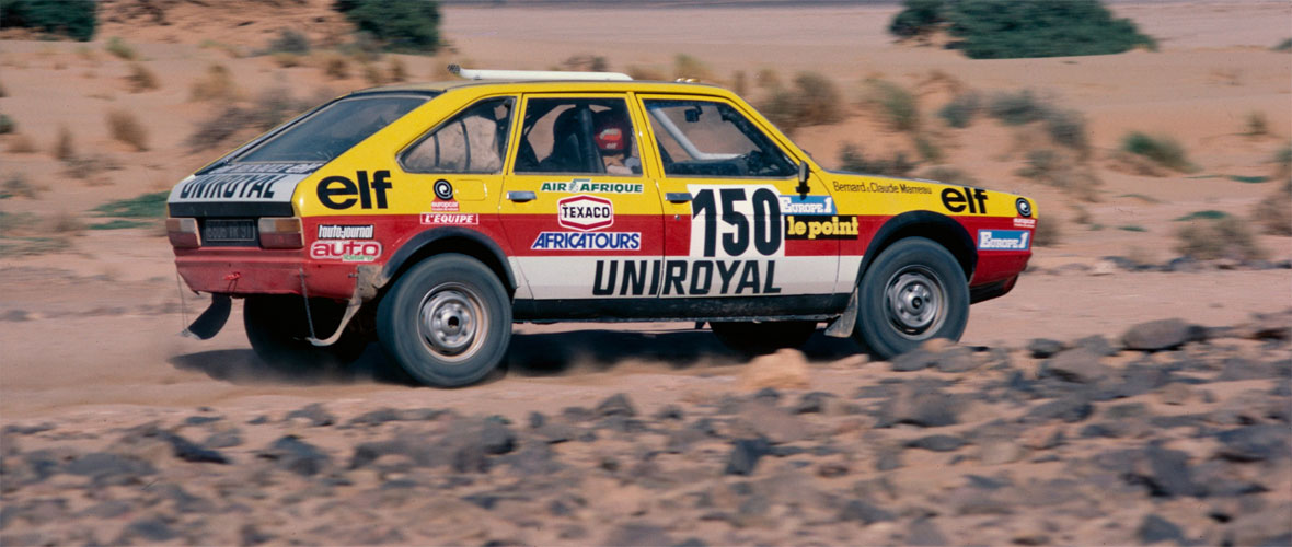 Renault 20 4x4 Paris-Dakar