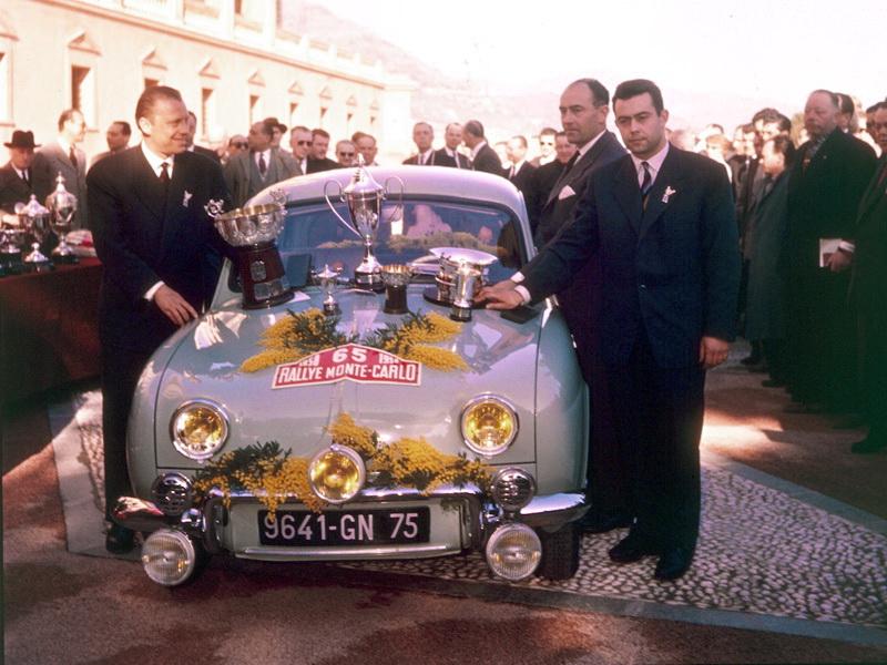 Renault Dauphine 1958 RMC 1ère