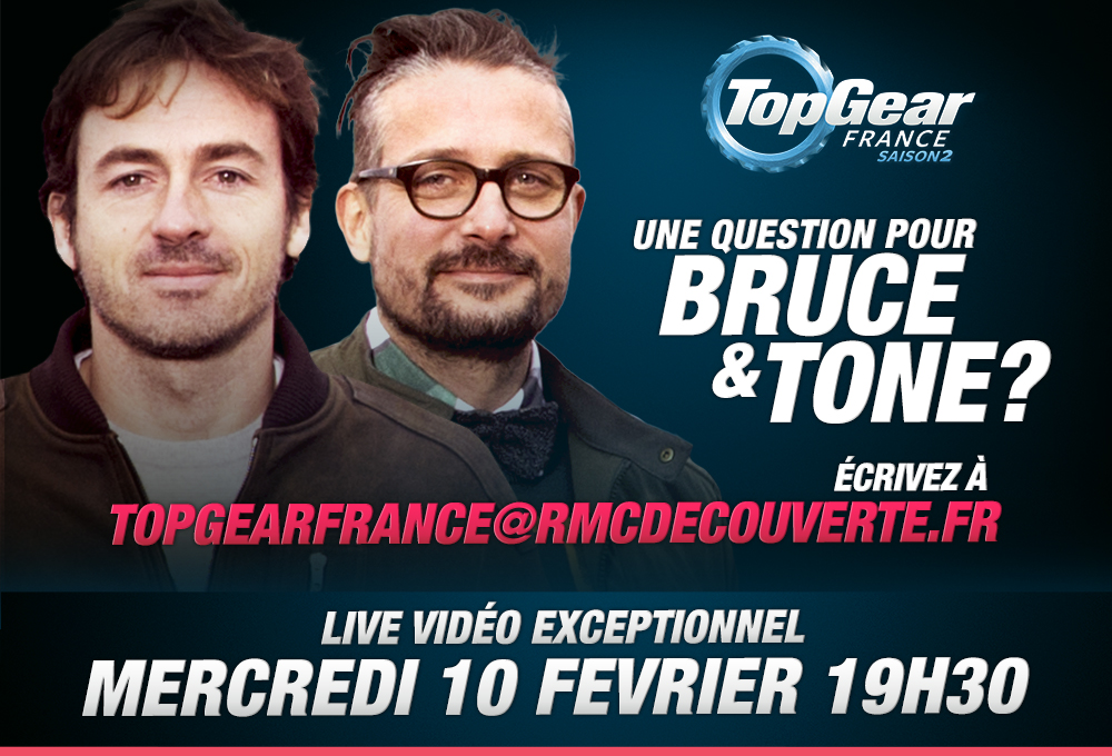 Top Gear France - Live 10 Février 2016 à 19h30