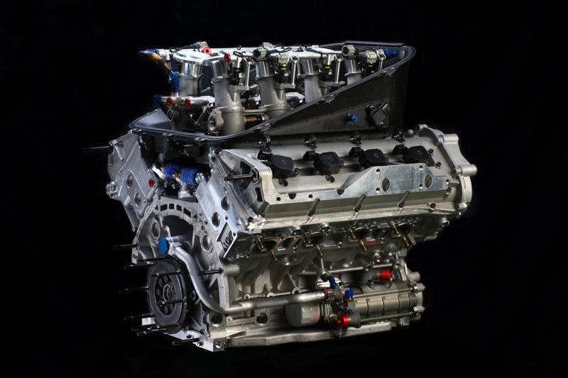 V8 Nissan Nismo VK45DE 4.5L LMP2