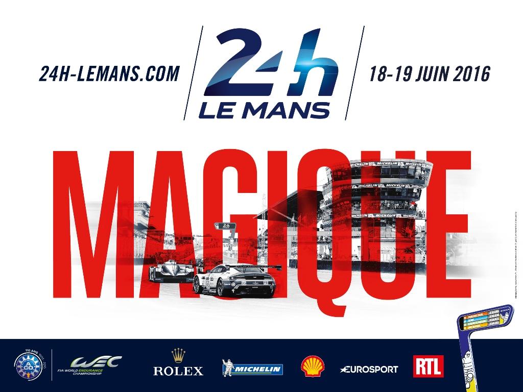Affiche 24 Heures du Mans 2016