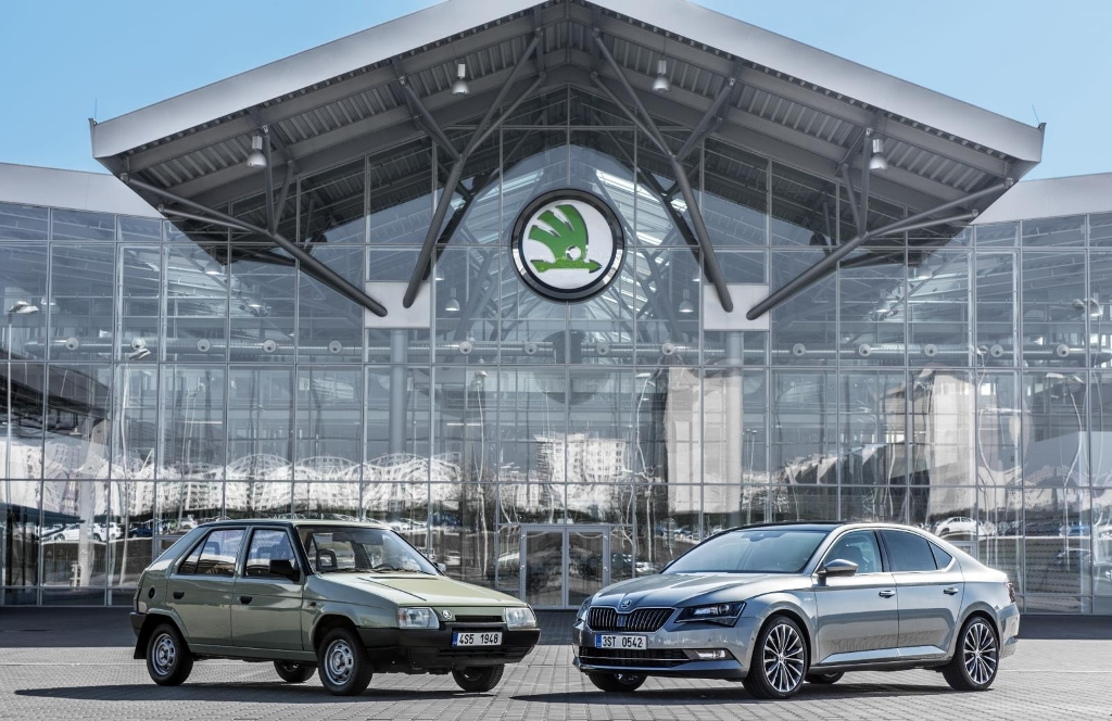 25ans de Skoda chez VW