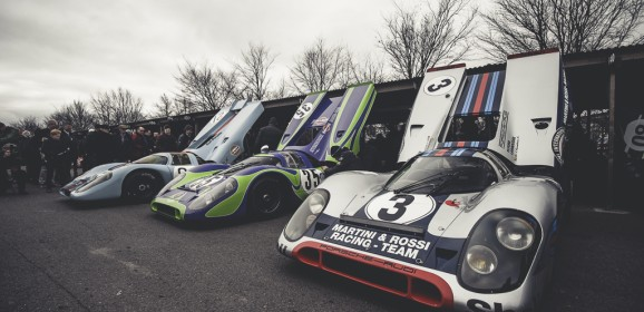 74ème Members Meeting à Goodwood : Démonstration des monstres  du Groupe 5