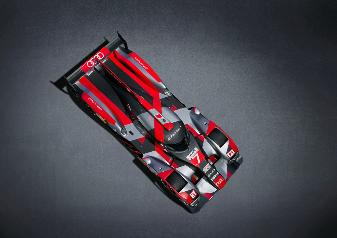 Audi R18 LM P1-H FIA WEC 2016