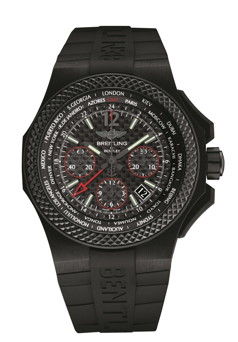 Breitling for Bentley GMT B04 S Carbon Body
