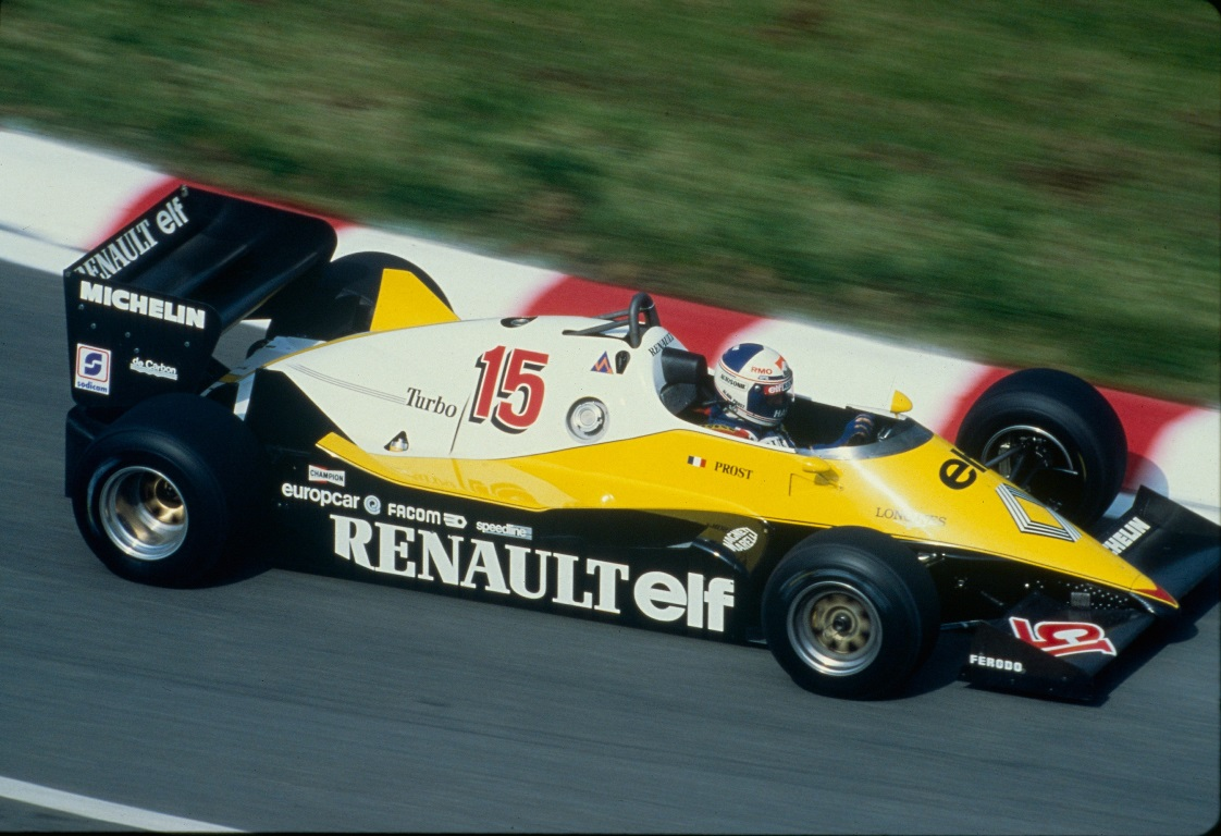 Renault RE40 F1 - Alain Prost