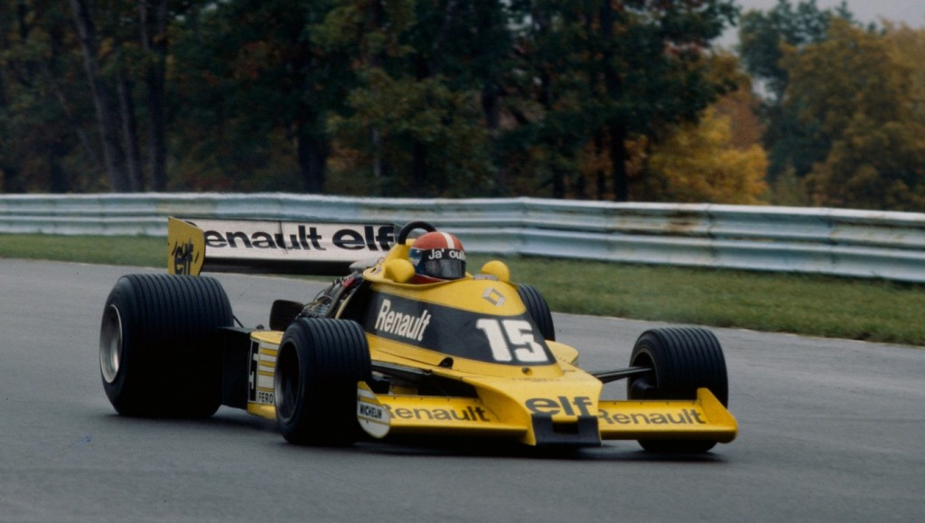 Renault RS01 F1 - Jean Pierre Jabouille