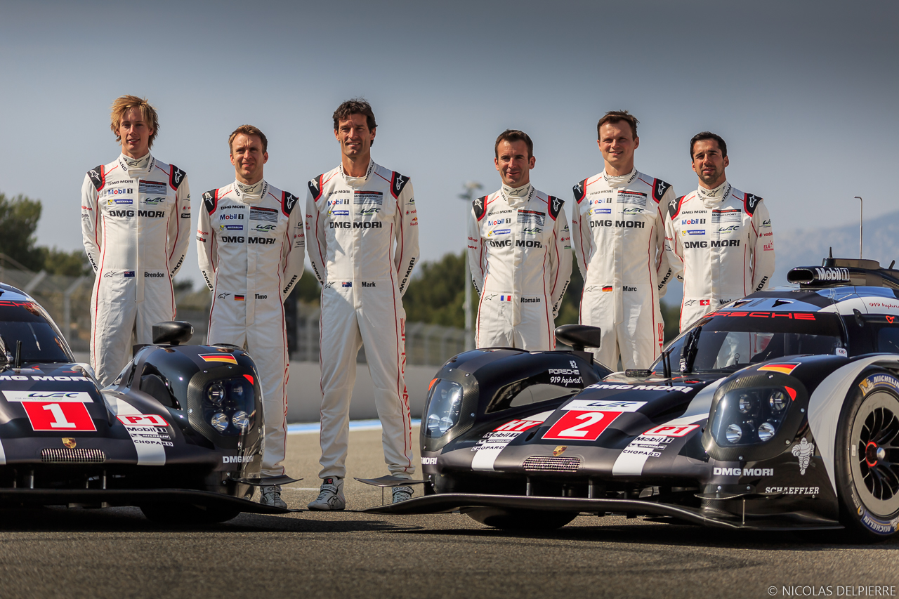 Mark Webber, Timo Bernhard et Brendon Hartley / Romain Dumas, Neel Jani et Marc Lieb