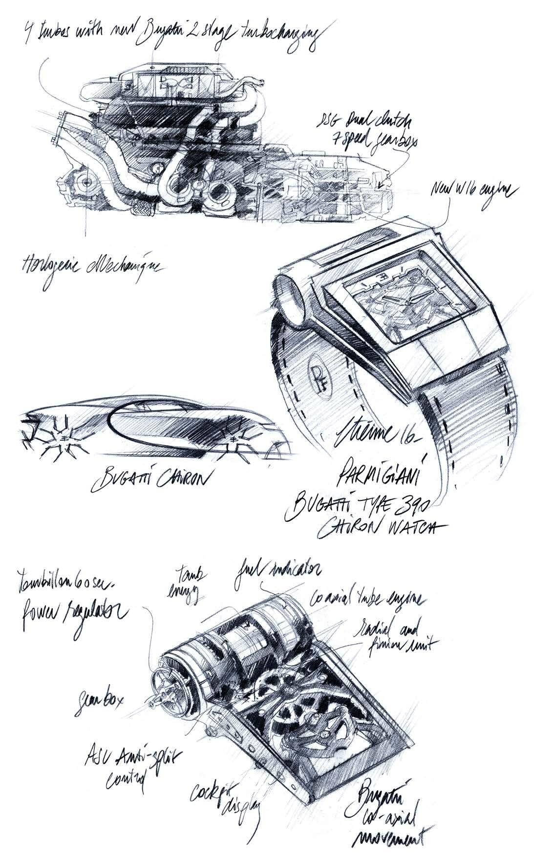 PF-Bugatti 390 Concept Watch