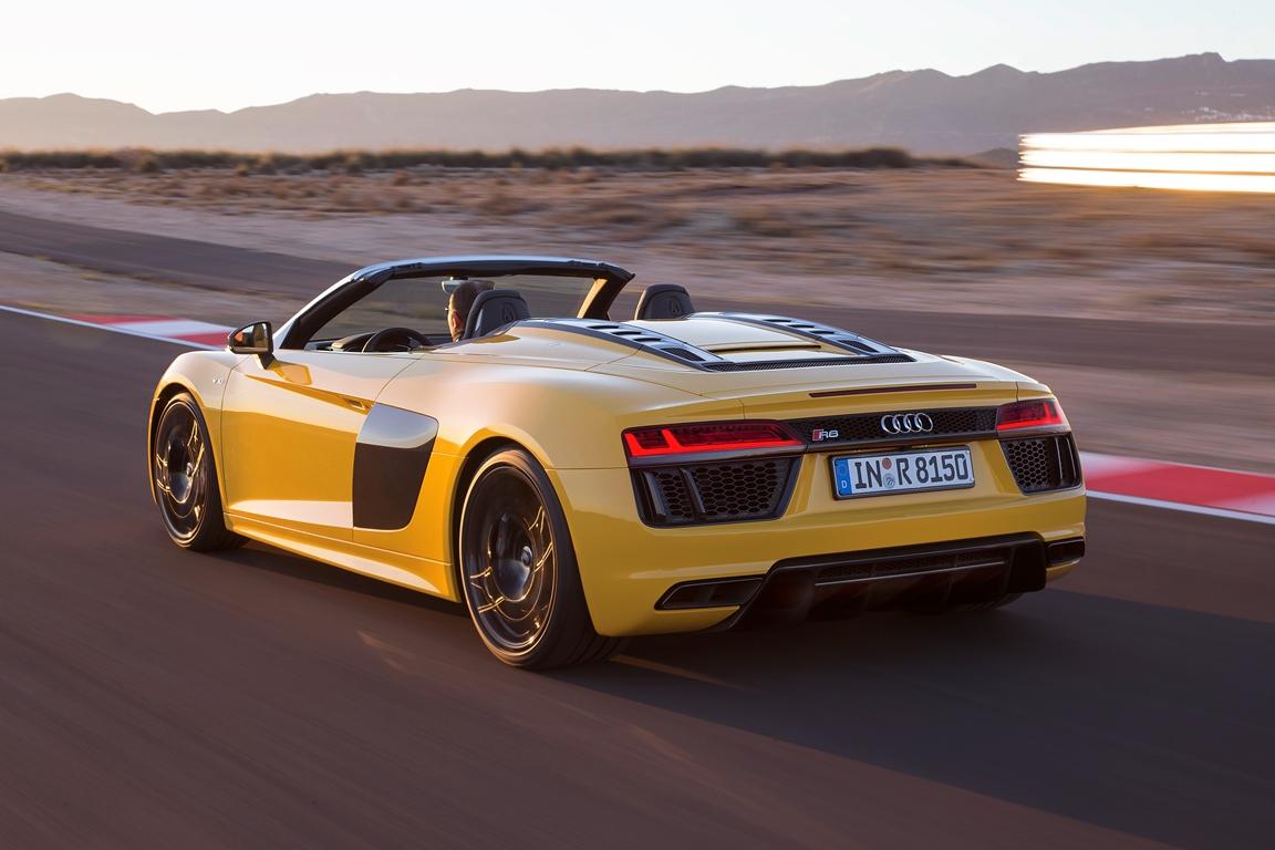 Audi R8 Spyder V10 540 ch