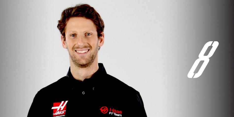Romain Grosjean Haas F1 Team