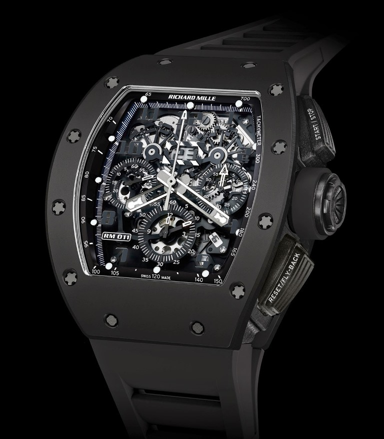 Richard Mille RM 011 Flyback Chronograph Black Phantom