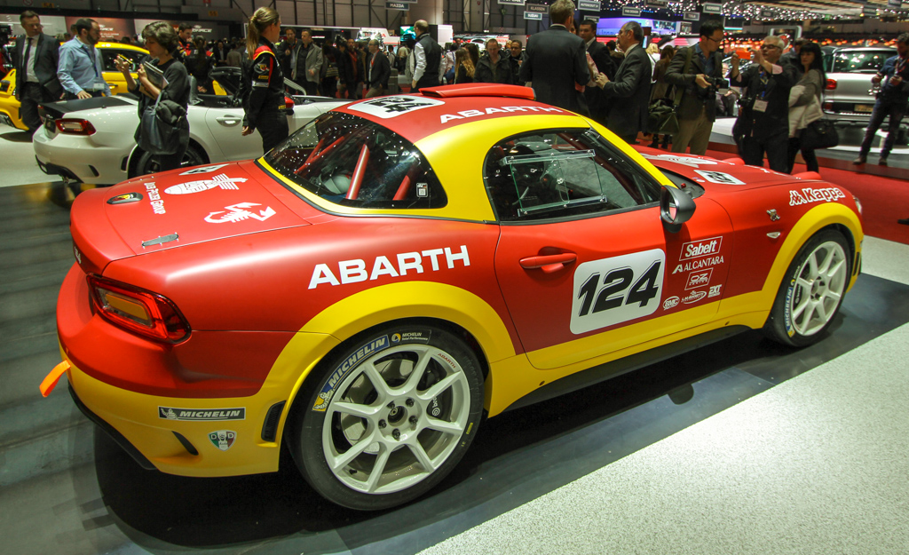 Abarth 124 Spider Rally 2016