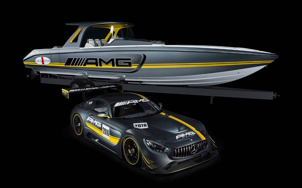Mercedes-AMG et Cigarette Racing