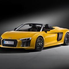 Audi R8 Spyder V10 : 540 ch et 3,6 sec au 100m