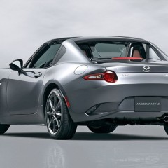 Salon de New York 2016 : Mazda présente son roadster targa, la MX-5 RF