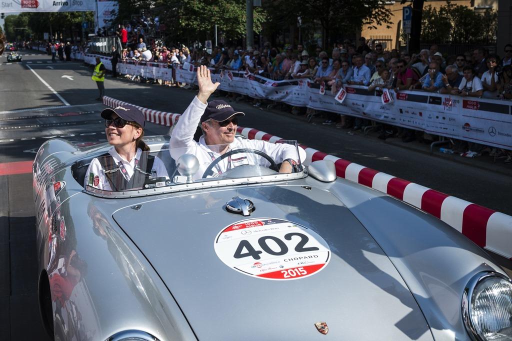 Karl-Friedrich Scheufele - Mille Miglia 2015