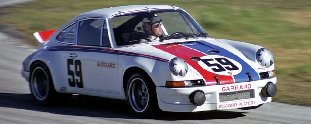 Porsche 911 Carrera - Hurley Haywood/Peter Gregg - vainqueur des 24 Heures de Daytona 1973