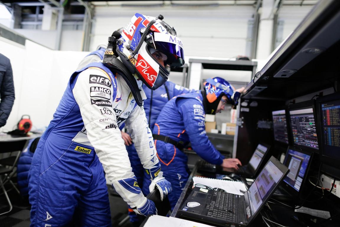 FIA WEC LMP2 Silverstone 2016 - Alpine A460