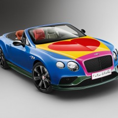 Bentley Continental Pop Art par Sir Peter Blake