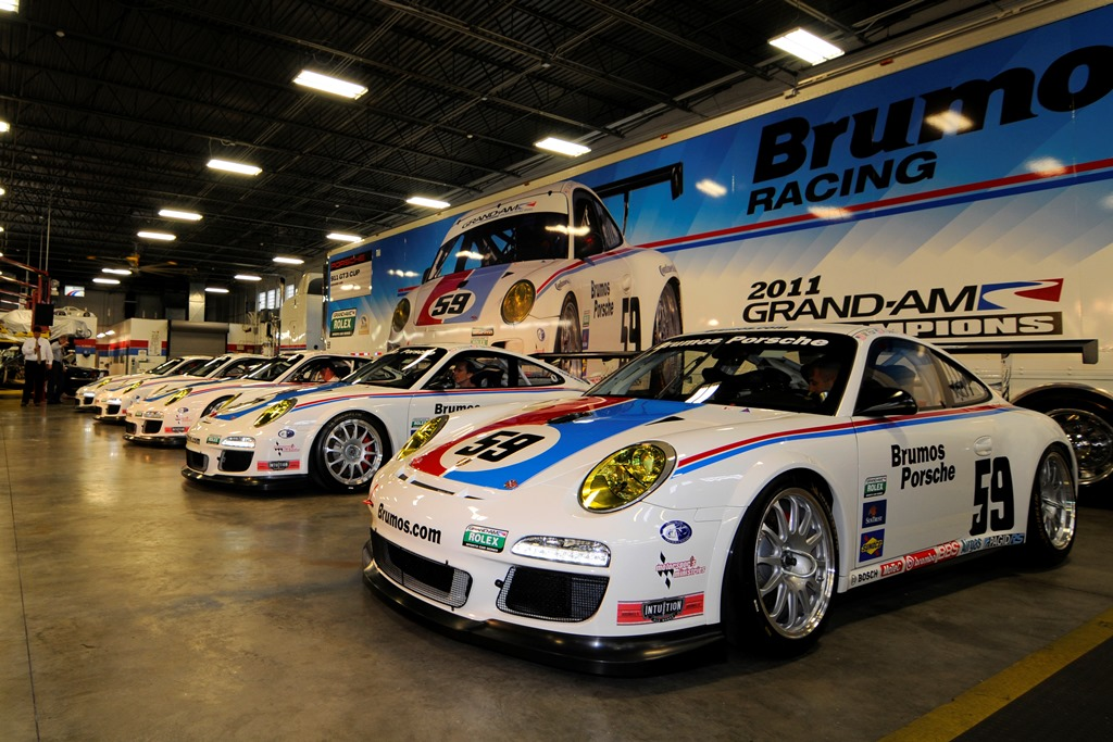 Brumos Porsche 911 GT3 Cup