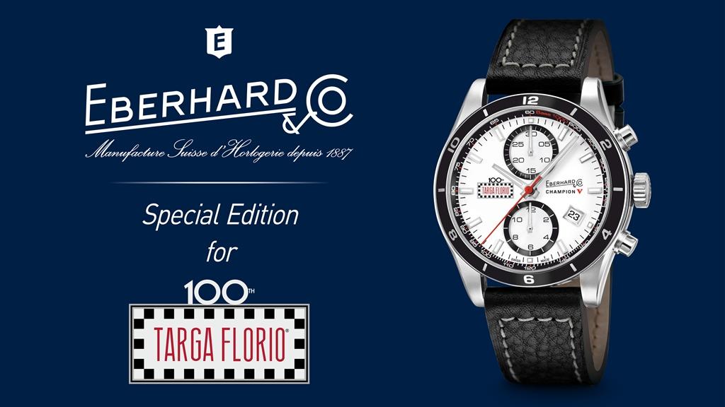Ebehard & Co. : Chronographe Champion V Targa Florio