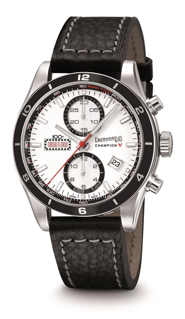 Ebehard & Co. Chronographe Champion V Targa Florio