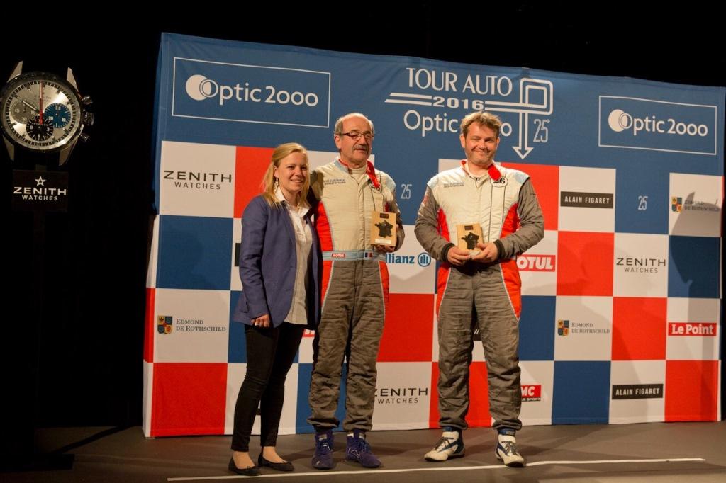 Tour Auto 2016 - JP. Lajournade / Ch. Bouchet - Lyon