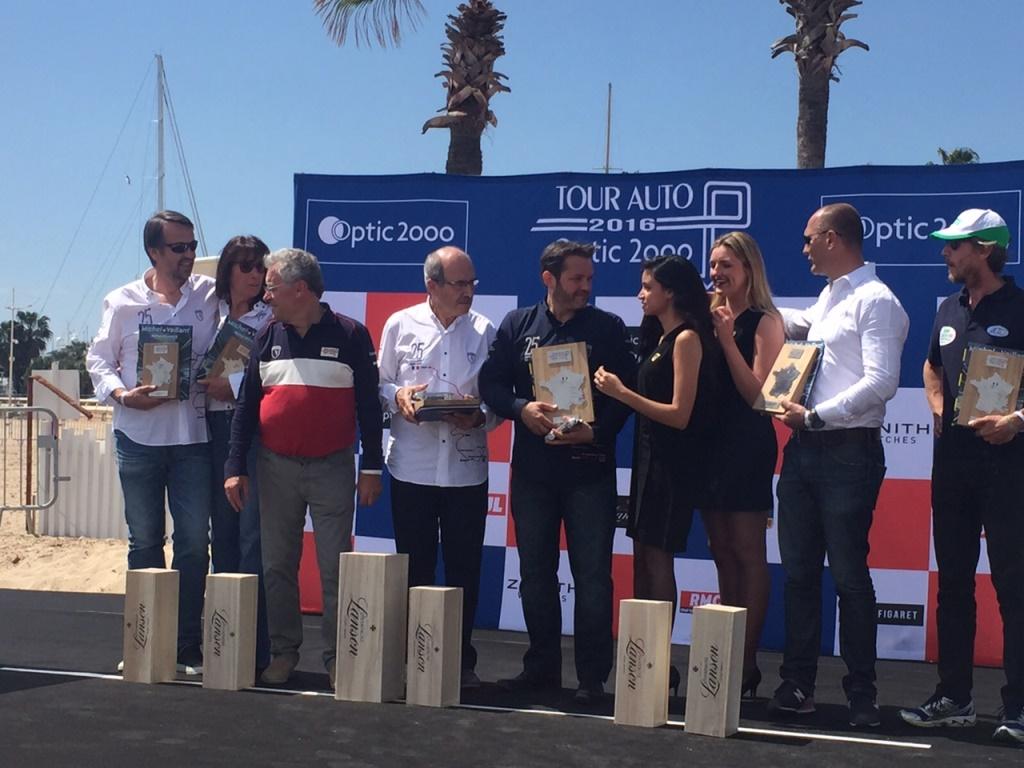 Tour Auto 2016 - Podium remise des prix