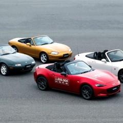1.000.000 de Mazda MX-5 produites !