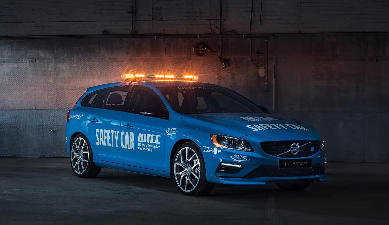 Volvo V60 Polestar Safety Car WTCC 2016