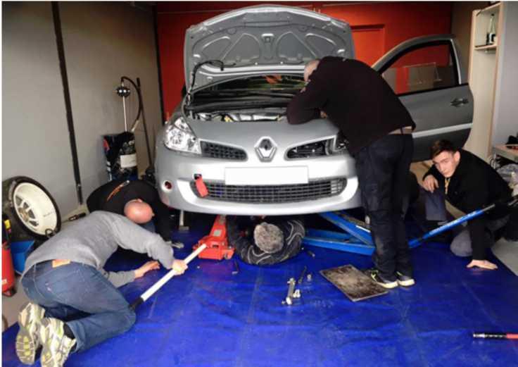 Renault Clio F2014 - Rallye de Charbonnière 2016 - Julien Saunier et Fred Vauclaure - Écoles De Production