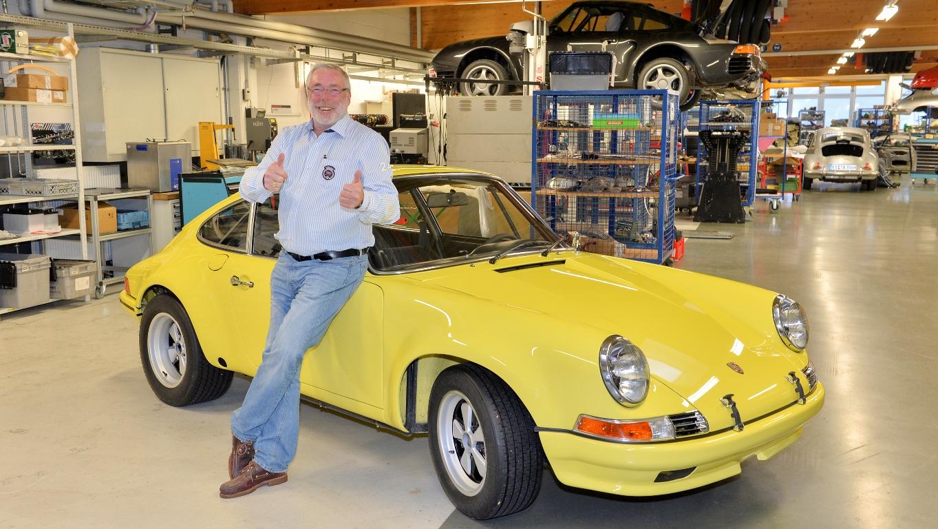 Porsche 911 2.5 S/T 1972 - Jürgen Barth