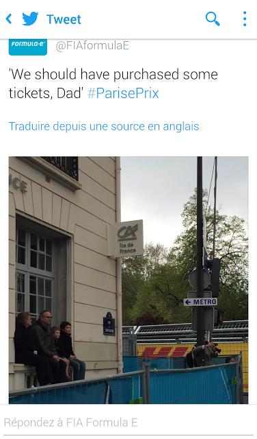 Formula E Paris 2016