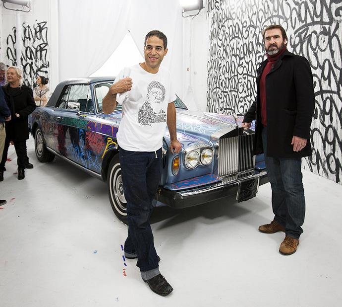 Rolls Royce Corniche de 1984 - Eric Cantona / John Perello (JonOne)