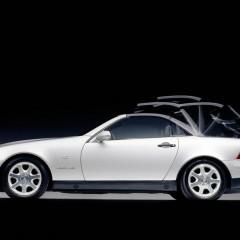 Le Mercedes SLK a 20 ans, et oui déjà !
